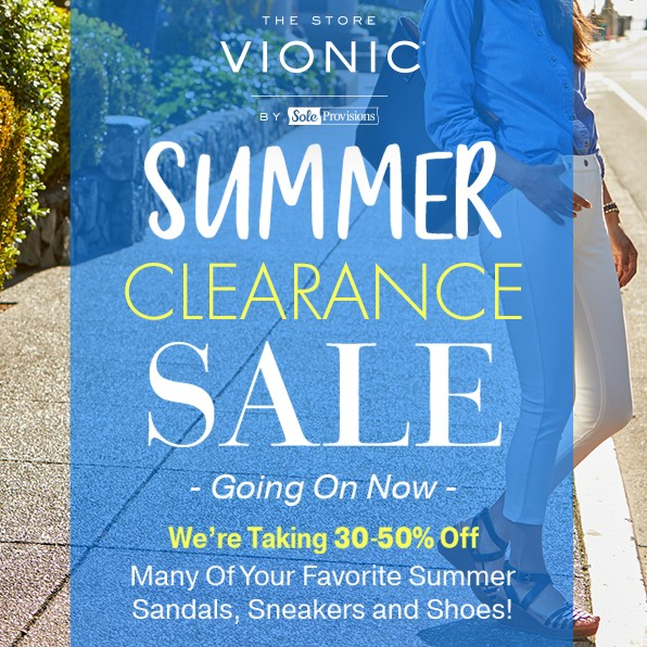 Vionic Summer Sale