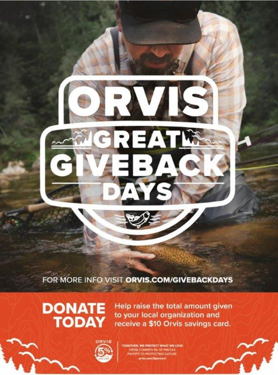Orvis Gives Back